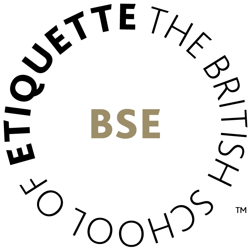 The British School of Etiquette logo with trademark
